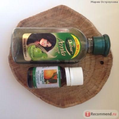 я использую масло амлы + эм апельсина
