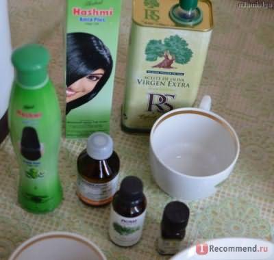 Любимые базовые и эфирные масла для волос.