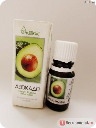 Масло косметическое СиНам авокадо фото