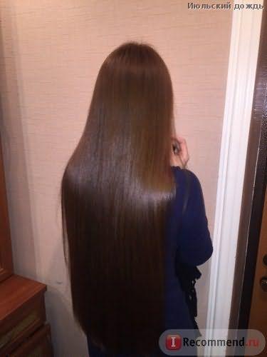 Волосы после серии Эликсир Ультим