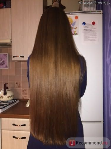 Волосы после кондея и шампа Редкен