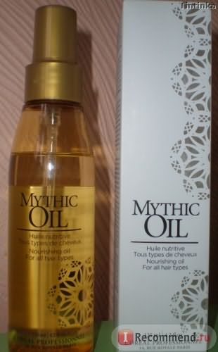 Масло для волос L'Oreal Professionnel Mythic Oil фото