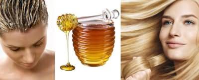 Мед укрепляет волосы и улучшает их рост.