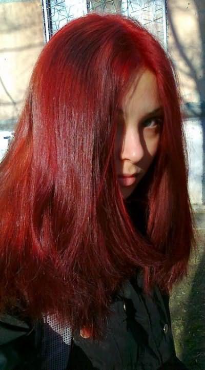 Цвет волос темное дерево