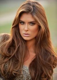 карамельный цвет волос краска 1