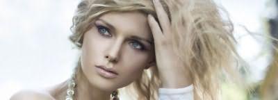 Фото: Французское мелирование на русых волосах