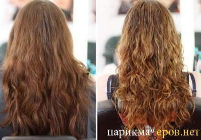 Мелирование на тёмные волосы – фото До и После.