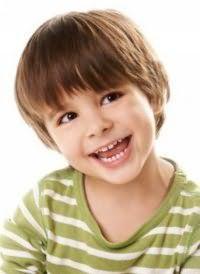 Классическая детская стрижка для мальчика