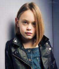 Модная детская стрижка для девочки