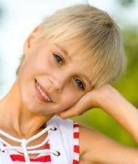 Детская стрижка для девочек с короткими волосами