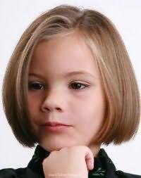 Модная детская стрижка каре для девочки