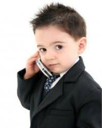 Модная детская прическа для мальчика