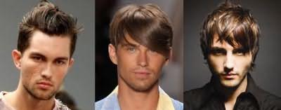 Варианты для мужчин, как убрать пробор на волосах.