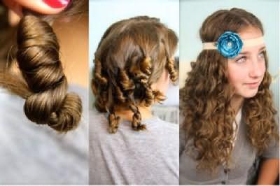 За столетия истории красоты волос наши предшественницы придумали несколько способов завивки.