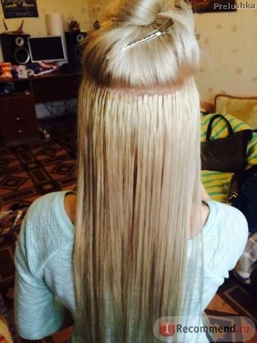 Новый комплект волос. Ленты Good Hair XS