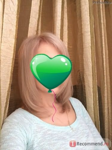 Волосы после снятия