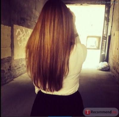 Наращивание волос итальянское. фото