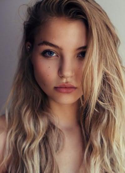 натуральный светлый цвет волос