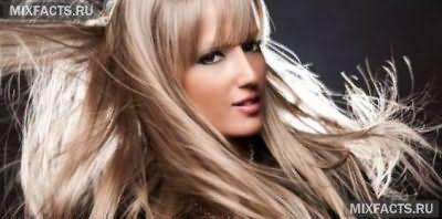 мелирование соль и перец модное окрашивание волос фото