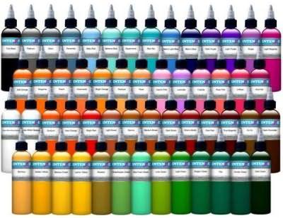 Профессиональные краски - палитра