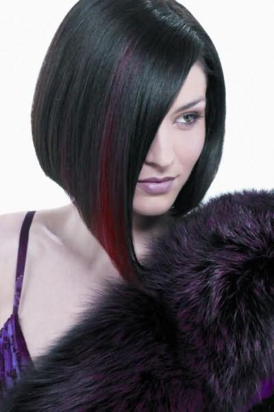 красивая прическа для коротких волос