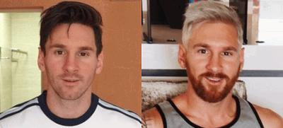 Лионель Месси стал блондином