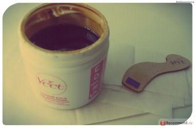 Теплый воск Veet Salon с эфирными маслами фото
