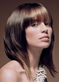 стрижки для объема на средние волосы 6