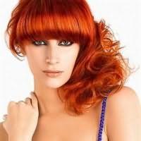огненно рыжий цвет волос краска 9
