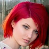 огненно рыжий цвет волос краска 3