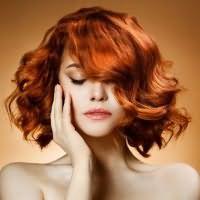 огненно рыжий цвет волос краска 4