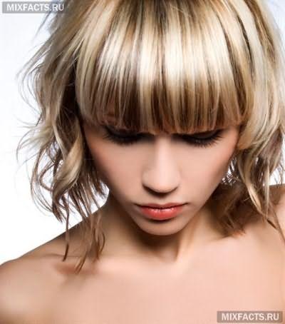 покраска волос в два цвета фото