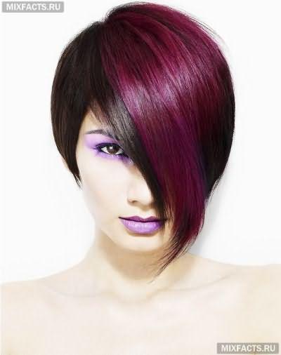 двутональное окрашивание волос