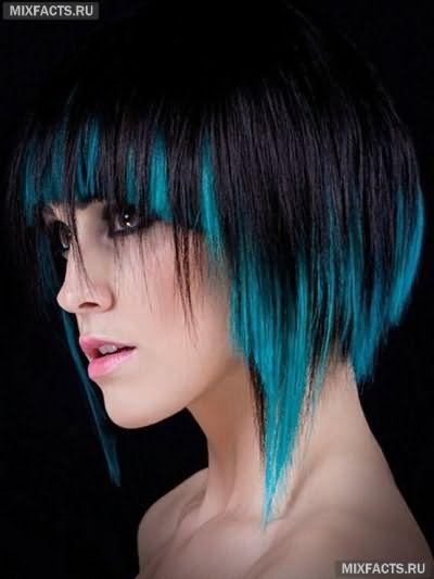 двойное окрашивание волос фото