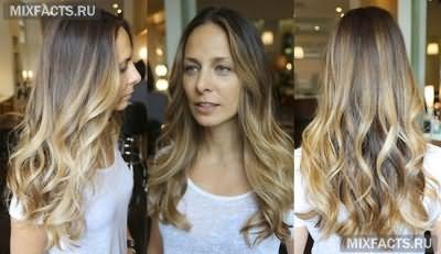 двутональное окрашивание волос брондирование