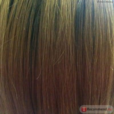 Волосы за несколько минут до окрашивания