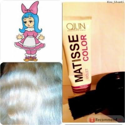 Краска для волос Ollin Пигмент прямого действия Matisse color Professional фото