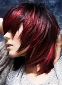 окрашивание омбре на короткие волосы 7