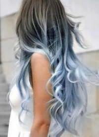 омбре на темные волосы7
