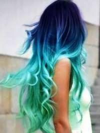 Омбре на русые волосы2