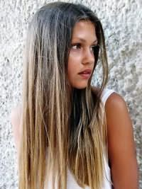 Омбре на русые волосы4