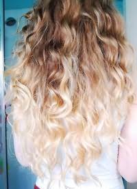Осветление концов волос 1
