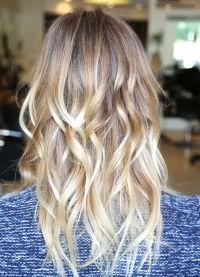 Осветление концов волос 3
