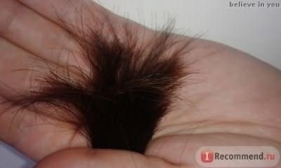 состояние кончиков волос (последняя стрижка была 2,5 месяца назад)
