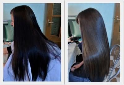 Есть несколько результативных способов, как убрать черный цвет волос.