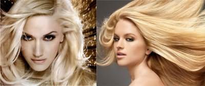 Окраска в блонд от Лореаль