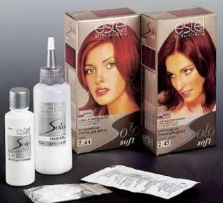 Палитра краски для волос Estel solo soft (Эстель соло софт)