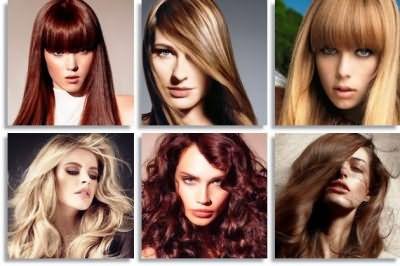 фото модных цветов волос