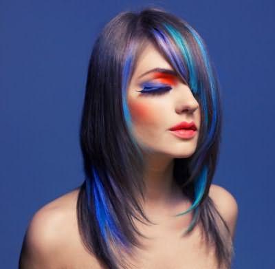 Колорирование волос оттеночным шампунем