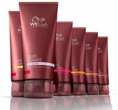 Оттеночный шампунь Color Recharge от Wella